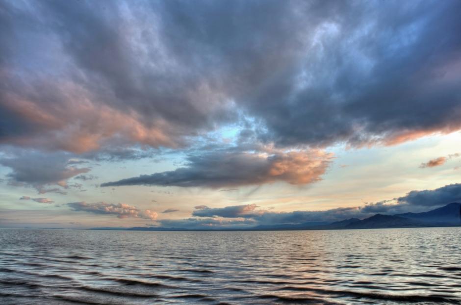 Sky and the Salton Sea